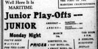 1937-38 Maritimes Junior Playoffs