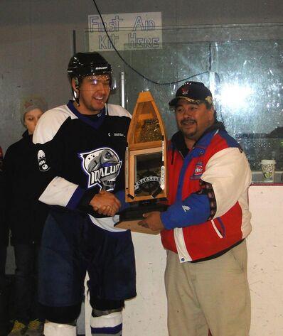 Qaqsaug Cup trophy