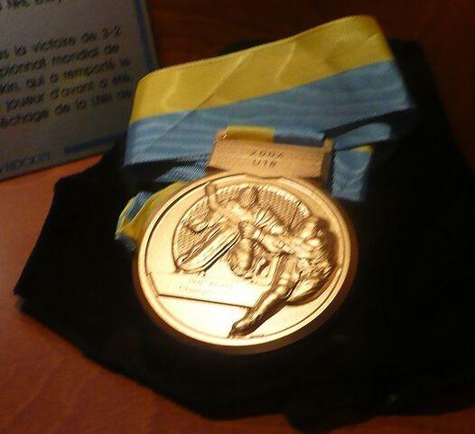 File:World U18 Championships Gold Medal.JPG