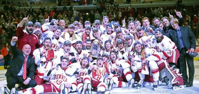2017 NCAA Division I Men's champs Denver Pioneers