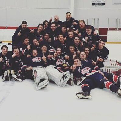 2016 EHL Elite champions Boston Jr Rangers