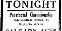 1929-30 Alberta Intermediate Playoffs