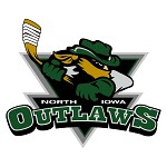 North iowa outlaws logo
