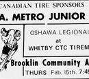 MetJHL Standings 1972-73