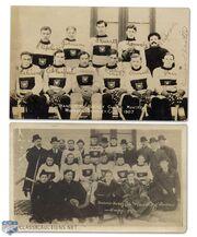 1907 Montreal Wanderers teams pictrures