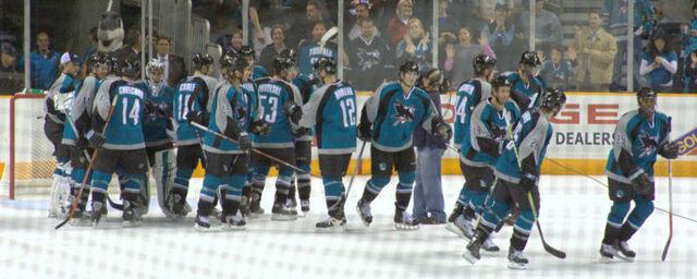 File:SJ Sharks 121106 celebration.jpg