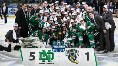 2016 Frozen four champs North Dakota