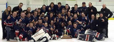 2017 CapJHL champs Wetaskiwin Icemen