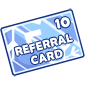 10 Referral Points Card