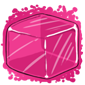 Pink Ice Cube