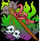 Cursed Bone Staff