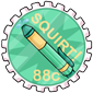 Prankster Squirt Pen Stamp