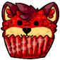 Red Ridix Cupcake