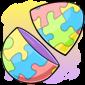 Empty Jigsaw Jakrit Egg