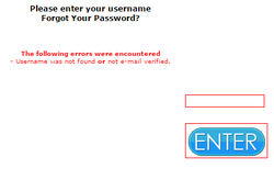 The error message without the Jakrit