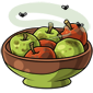 Bowl of Rotten Apples