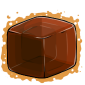 Brown Ice Cube Before 2015 revamp