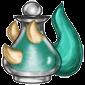 Bluegreen Trido Morphing Potion