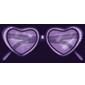 Purple Heart Sunglasses