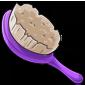 Purple Hairbrush
