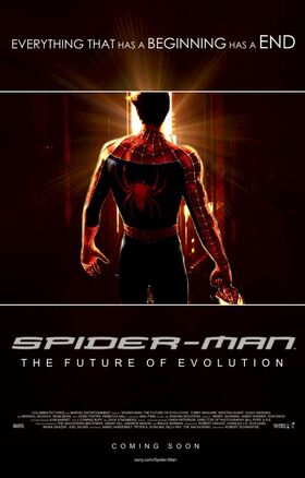 Spider-Man The Future of Evolution, International Poster