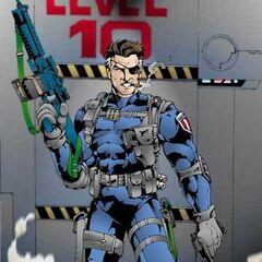 Cyborg Soldier Nick Fury