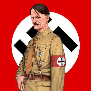 Evil Human Dictator Adolf Hitler