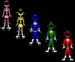 5 rangers