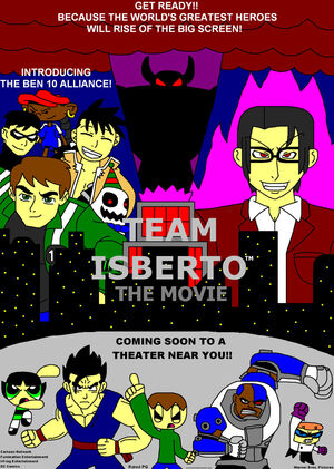 Team Isberto - The Movie Poster