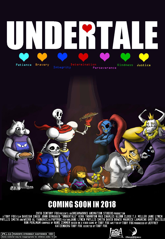 Image - Undertale Posterfilm.png : Idea Wiki : FANDOM ...