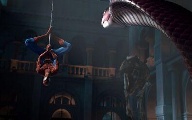 Spider-man-shattered-dimensions-cutscene-classic-pose-screenshot
