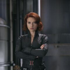 Black Widow/ Natasha Romanoff (Center)
