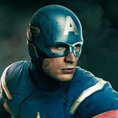 Captain America/ Steven Rogers (Center)