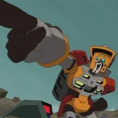Autobot Junkion Commander Wreck-Gar