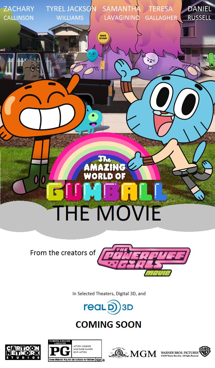 gumball amazing movie wikia wiki poster idea wb mgm fandom category films latest