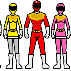 The 5 Power Rangers
