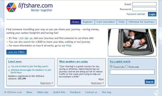 File:Liftshare frontpage screenshot.jpg