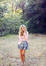 Olivia Holt Green Scenery