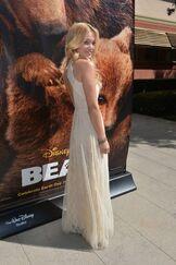 Disney bears Olivia holt 2014 side picture