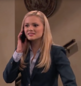 Lindy Talking On Phone