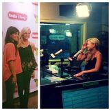 Olivia at the Radio Disney Studio