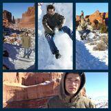Peyton During Snow