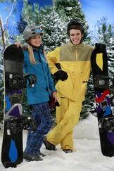Peyton and olivia snow problem
