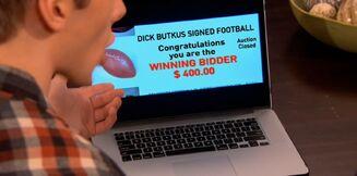 Logan's Dad wins the Butkus Football