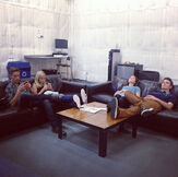 The Cast Relaxing