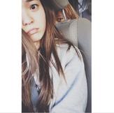 Piper in the car