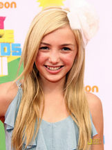 Peyton list kids choice