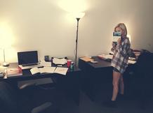 Olivia at Set School