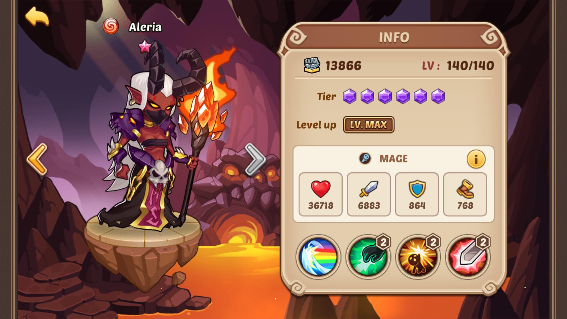 idle heroes super casino hero list