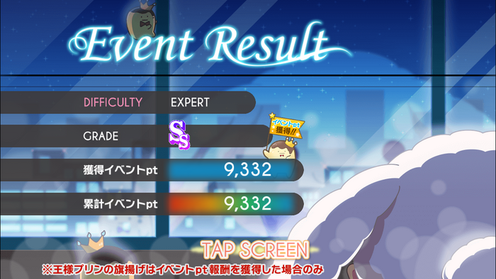Tsukiakari Irumineito – Event Live Results 03